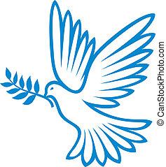 Taube des Friedens (Friedens Taube)