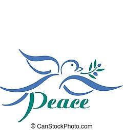 Taube Frieden