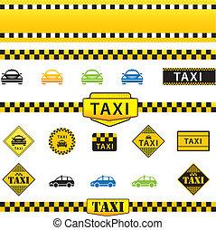Taxi-Set