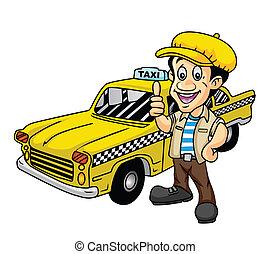 Taxifahrer.