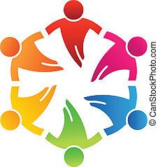 Team-Freunde 6, Design-Logo