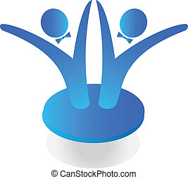 Team-Geschäfts-Logo