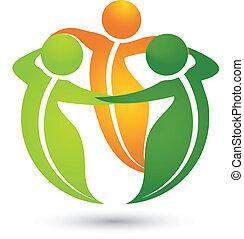 Team gesunde Blatt Apps Logo.