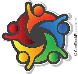 Team Hi5 mit schwarzem Hintergrund-Logo