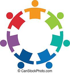 Team im Kreis 7 Logo.