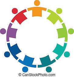 Team im Kreis 9 Logo.