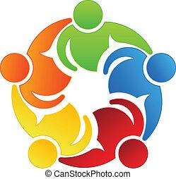 Team-Leute 5