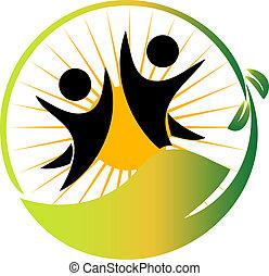 Team Natur-Logovektor