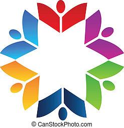 Teamwork-Bücher-Logo