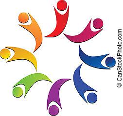 Teamwork-Gewerkschafts-Logo