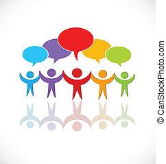 Teamwork Sprachgruppe Logo.
