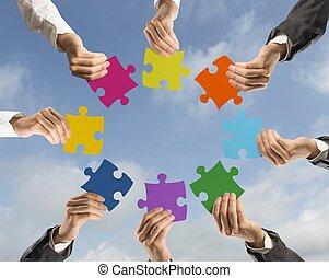 Teamwork und Integrationskonzept