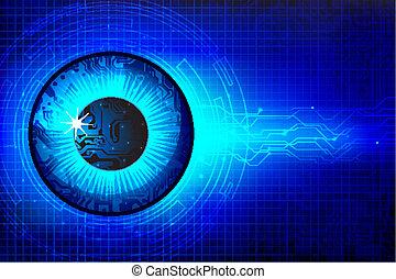 Technisches Auge.