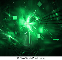 techno, explosion, digital