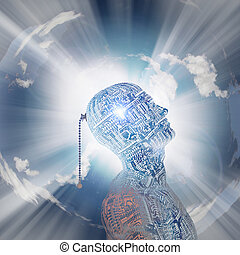 Technologie-Geist