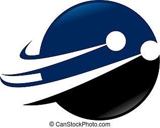 Technologie Geschwindigkeit Logo Design Vorlage Vektor.