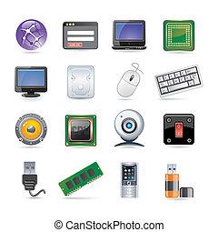 Technologie-Icon eingestellt.