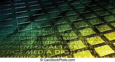 technologie, konnektivität