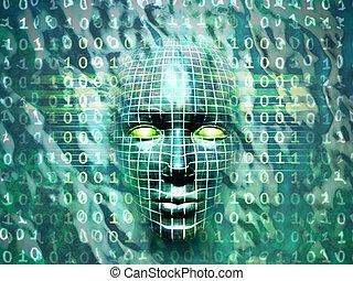 technologie, menschliche