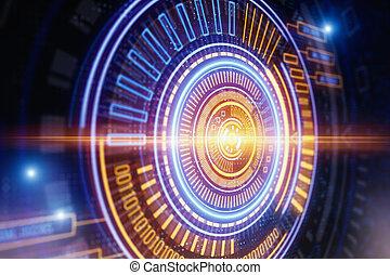 Technologie und Zukunftskonzept