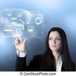 Technologie, virtuelle Schnittstelle