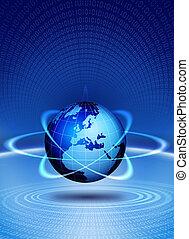 Technologieaktion der Welt