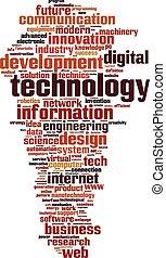 Technologiewortwolke