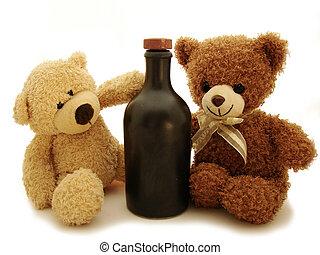 Teddybären & Botle