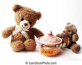 Teddybären & Honig
