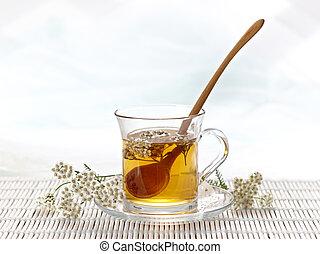 tee, kräuter