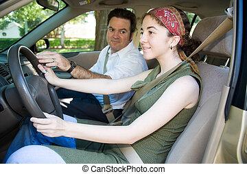 Teen-Fahrer-Ausbildung