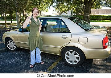 Teens erstes Auto