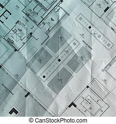 Teil des Architekturprojekts