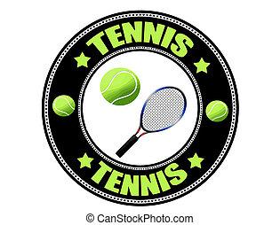 Tennis-Label