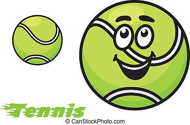 Tennis oder Emblem.
