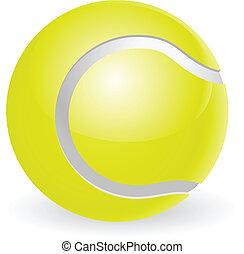 Tennisball-Illustration