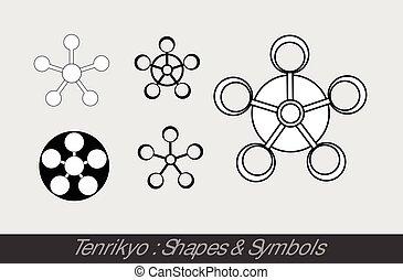 Tenrikyo Symbole.