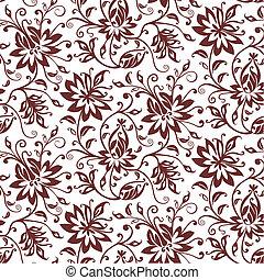 Textilvektorfloral-Hintergrund