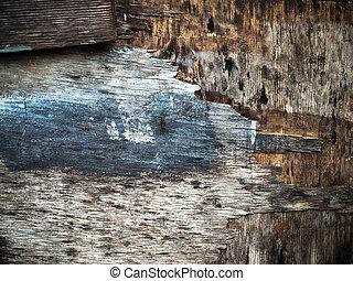 Textur des alten Holzes.