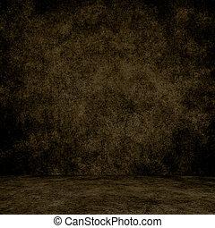 texture., wand, grunge, inneneinrichtung, entworfen, boden, hintergrund