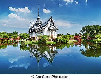 thailand, sanphet, prasat, palast