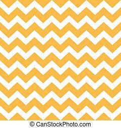 Thanksgiving Chevron-Muster - gelb und weiß