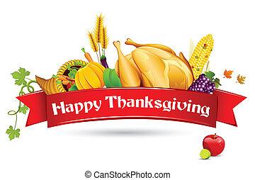 Thanksgiving-Karte