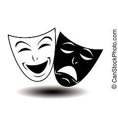 Theater-Ikone.