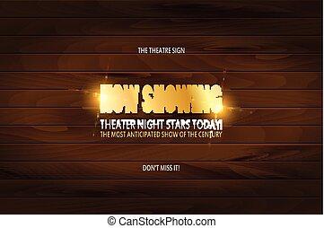 Theater-Premiere-Posterdesign