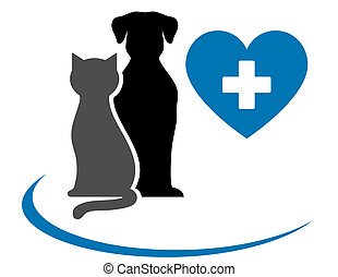 Tierärztin mit blauem Herzen.