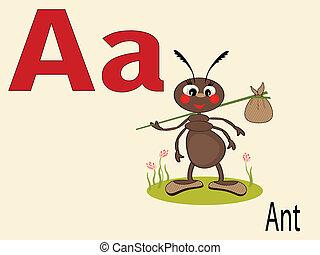 Tier alphabetisch