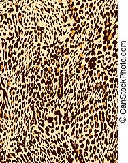 Tier-Leoparden-Hintergrund