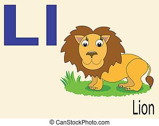 Tierbuchstaben L