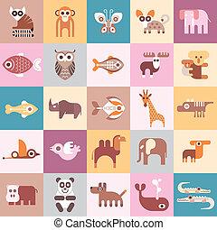 Tiere zeigen